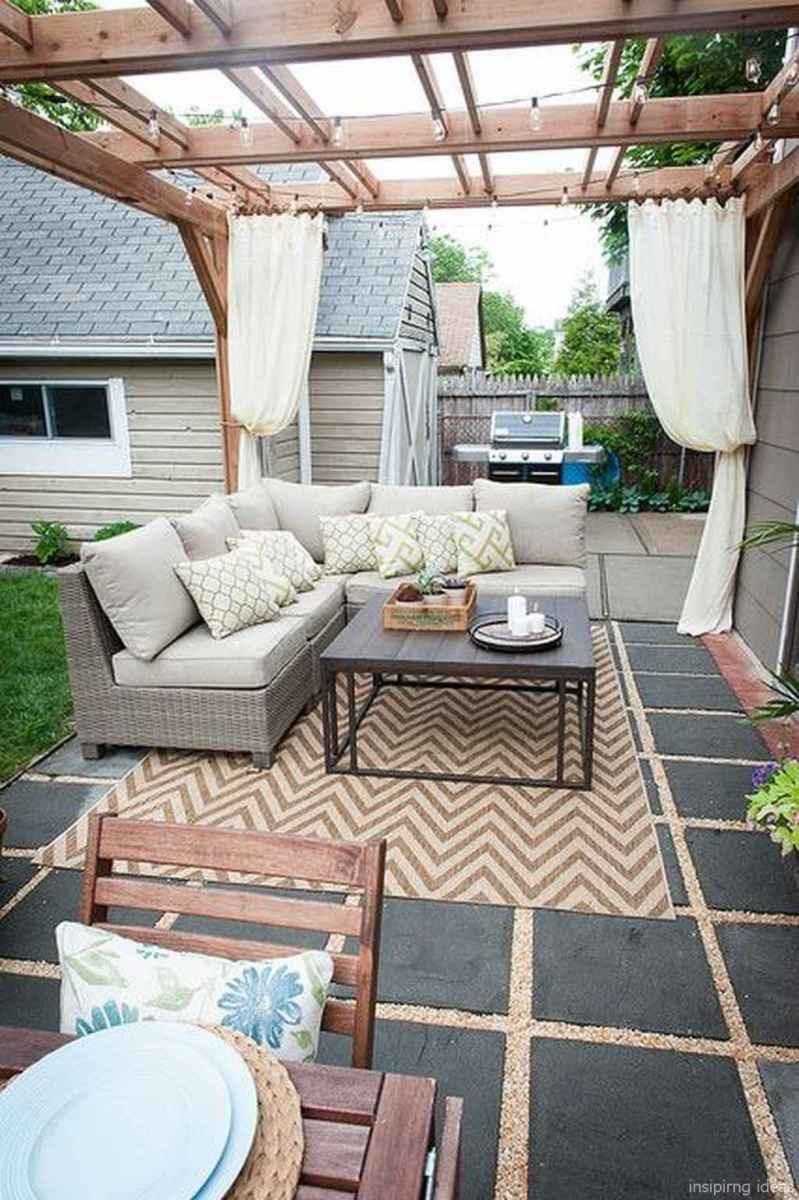 60 awesome gravel patio ideas with pergola