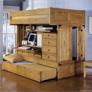 69 genius rustic storage bed design ideas