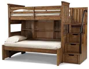 70 genius rustic storage bed design ideas