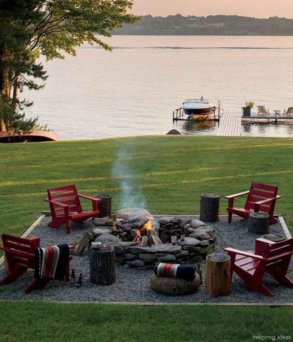 71 diy backyard fire pits design ideas