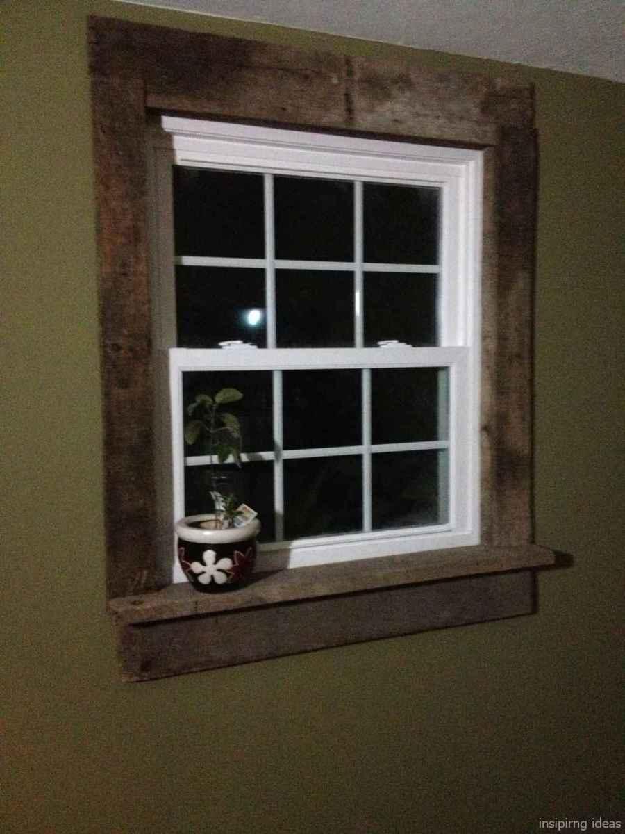 72 modern rustic window trim ideas