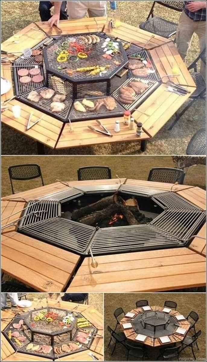 74 diy backyard fire pits design ideas