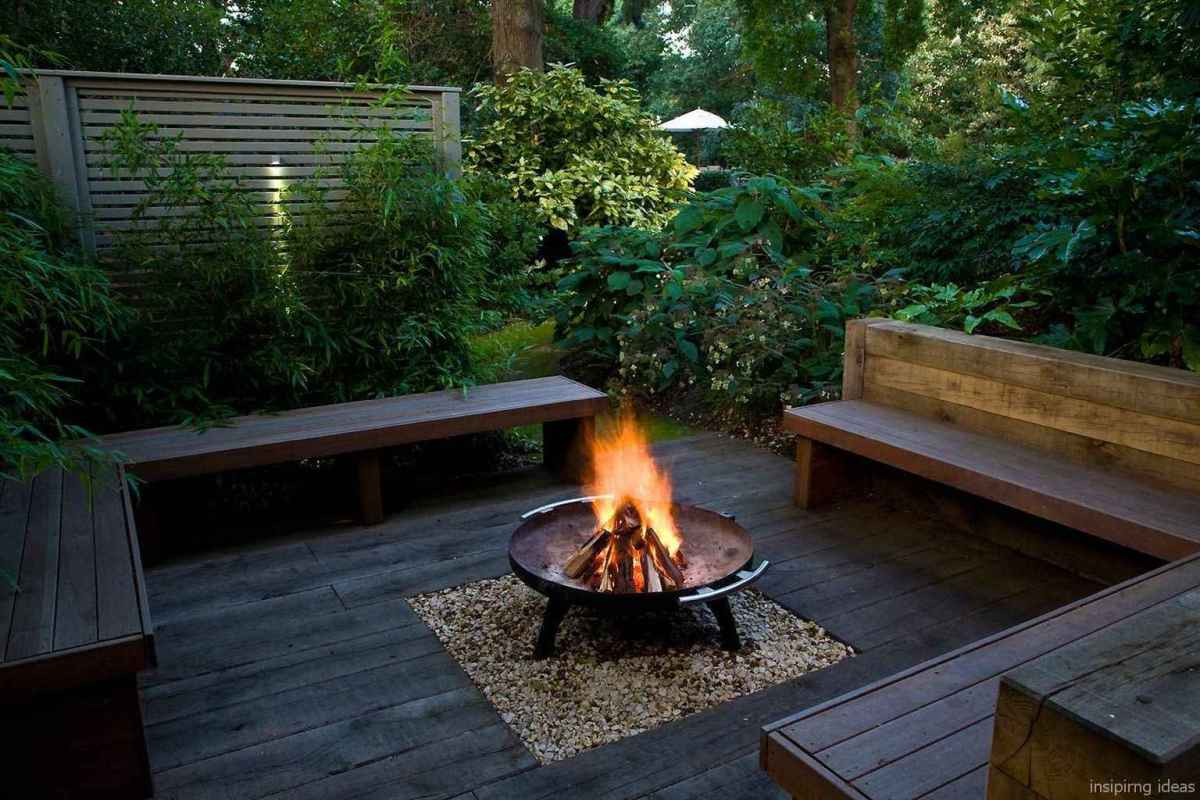 78 diy backyard fire pits design ideas