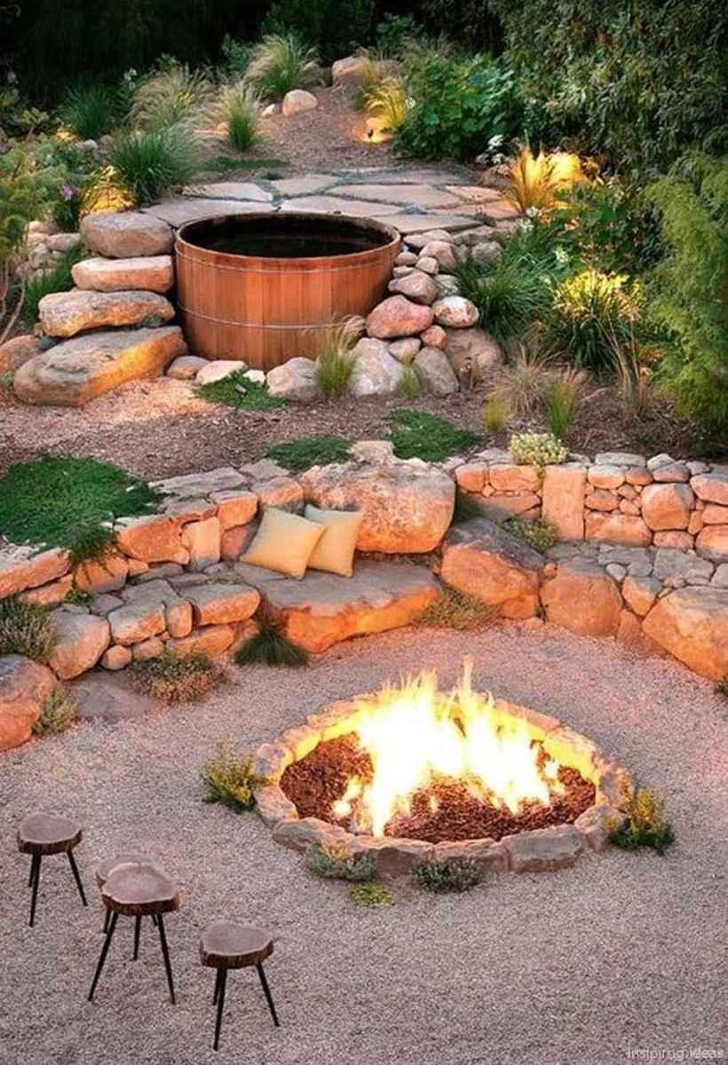 82 diy backyard fire pits design ideas