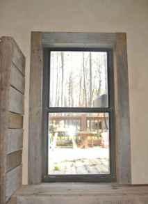 85 modern rustic window trim ideas