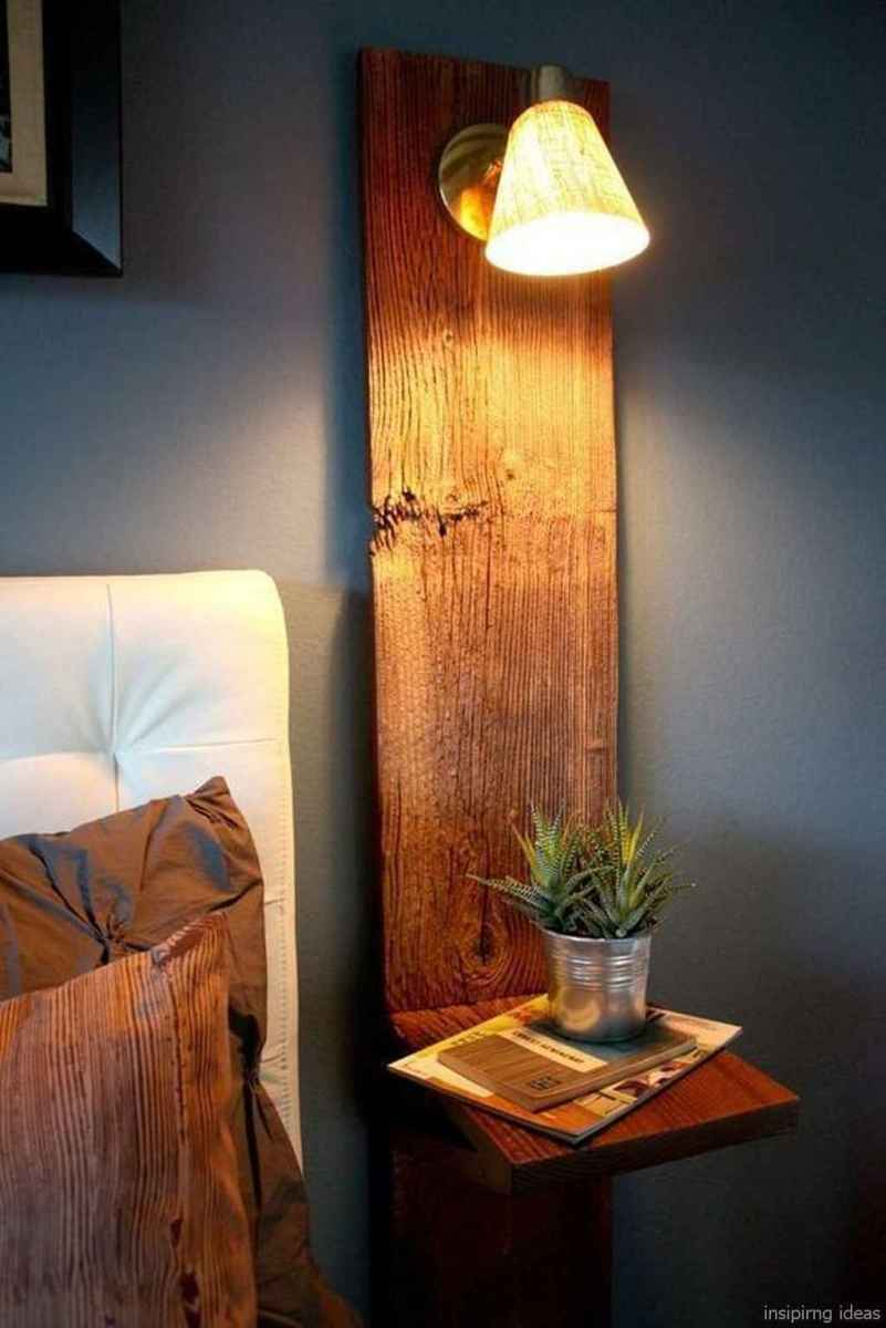 Rustic home decor ideas for bedroom 24