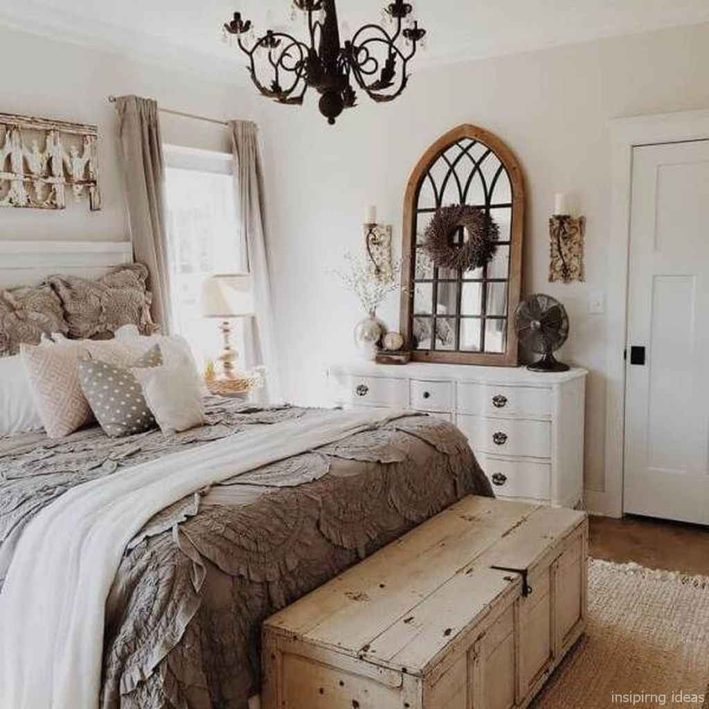 Rustic home decor ideas for bedroom 25
