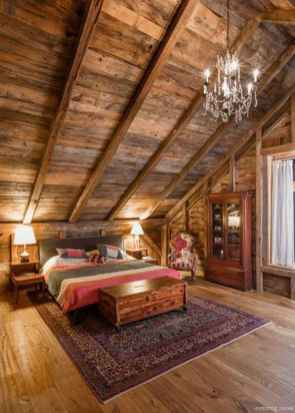 Rustic home decor ideas for bedroom 47
