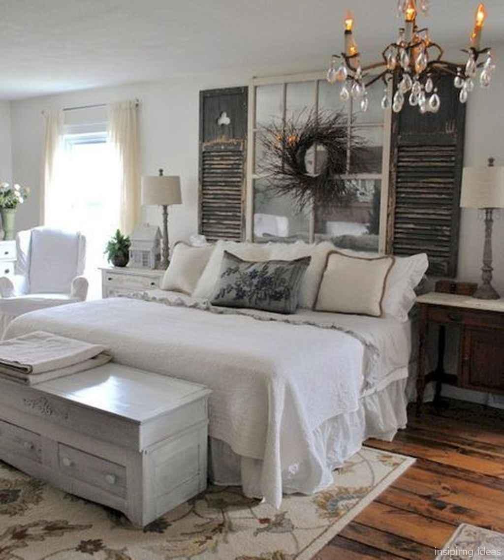 Rustic home decor ideas for bedroom 61