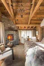 Rustic home decor ideas for bedroom 68