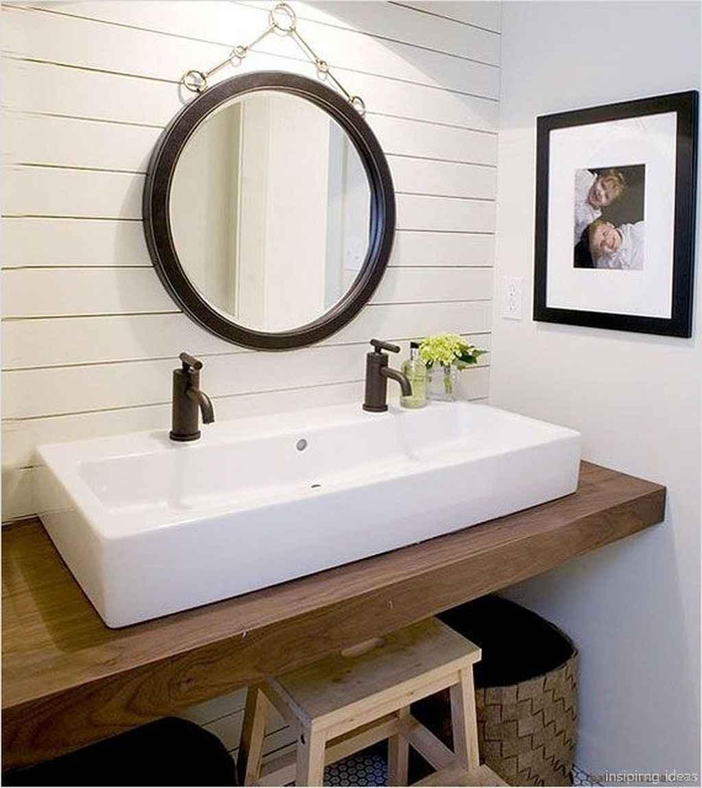 04 fabulous modern farmhouse bathroom vanity ideas