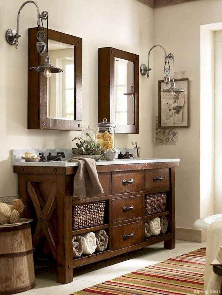 28 fabulous modern farmhouse bathroom vanity ideas