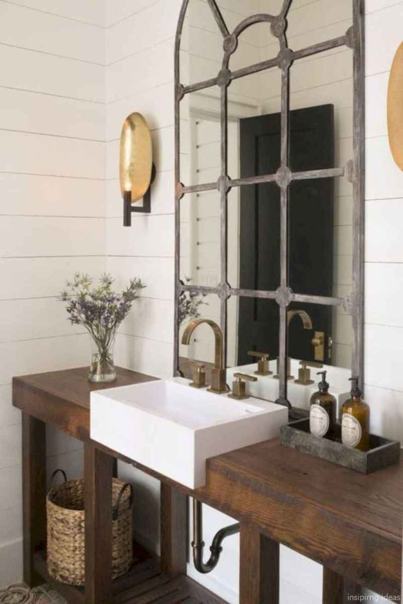 30 fabulous modern farmhouse bathroom vanity ideas