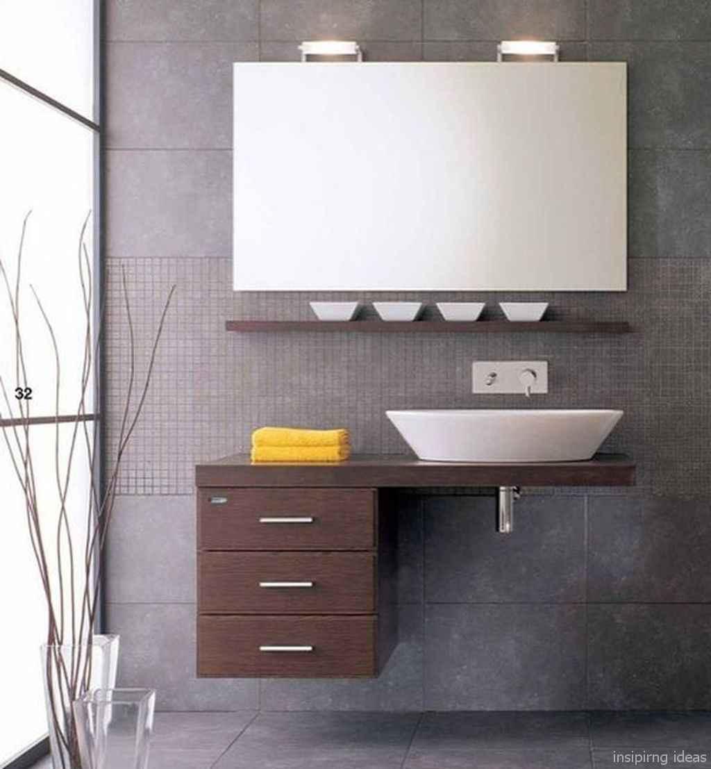 35 fabulous modern farmhouse bathroom vanity ideas