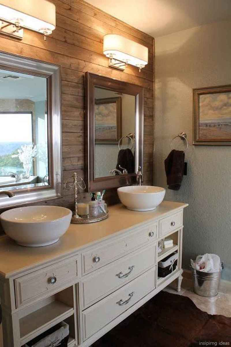 36 fabulous modern farmhouse bathroom vanity ideas