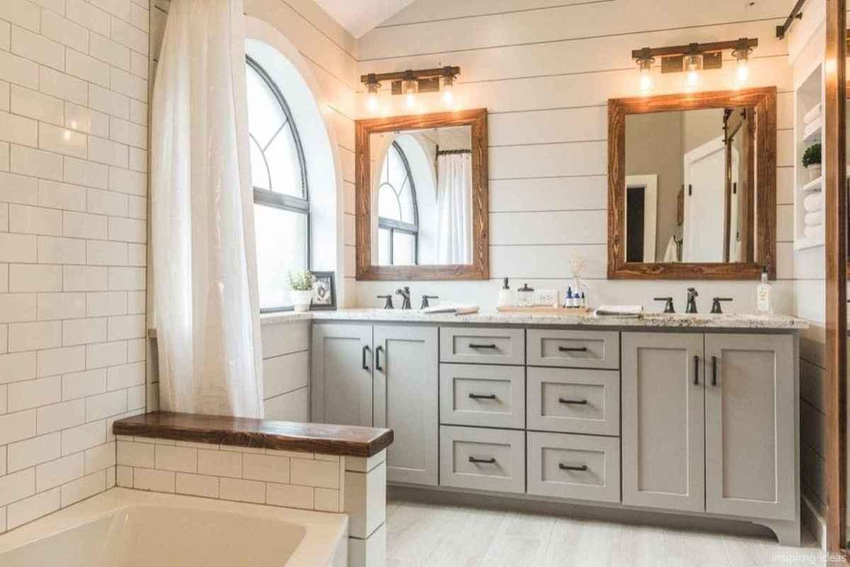 39 fabulous modern farmhouse bathroom vanity ideas