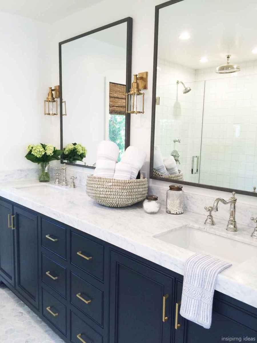 43 fabulous modern farmhouse bathroom vanity ideas