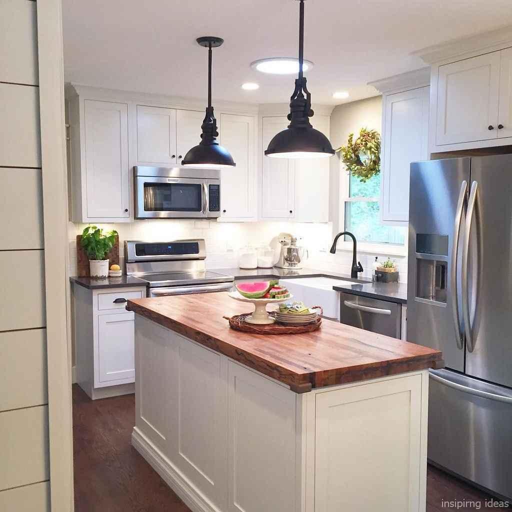 45 best modern farmhouse kitchen cabinets ideas