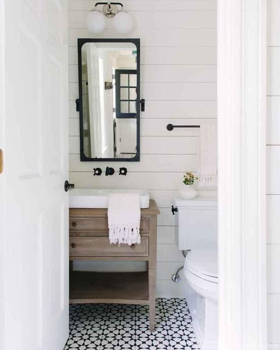 49 fabulous modern farmhouse bathroom vanity ideas