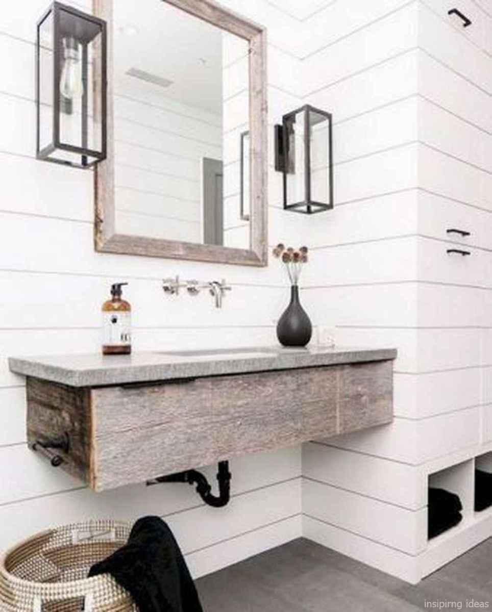 50 fabulous modern farmhouse bathroom vanity ideas