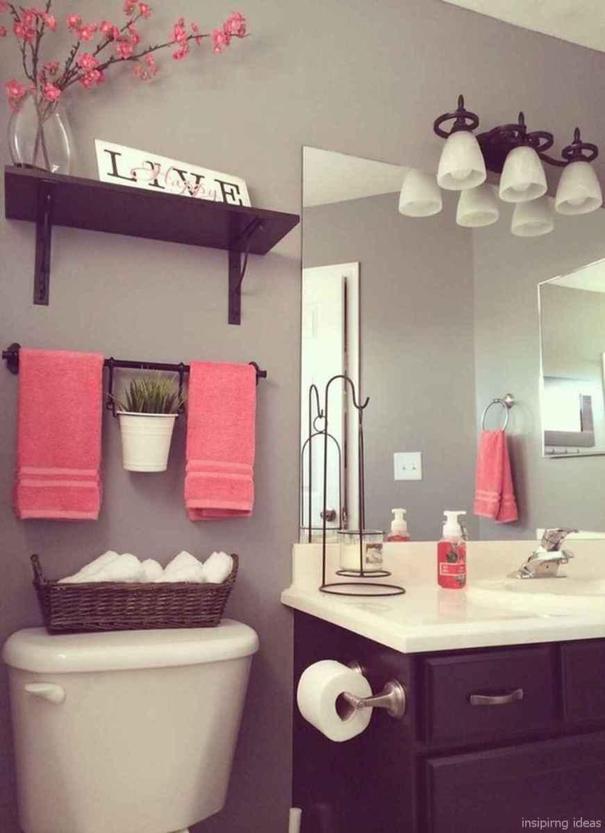 50 modern farmhouse small bathroom wall color ideas 18
