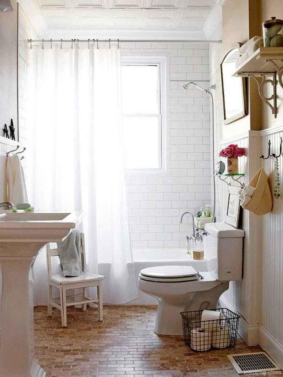 50 modern farmhouse small bathroom wall color ideas 43