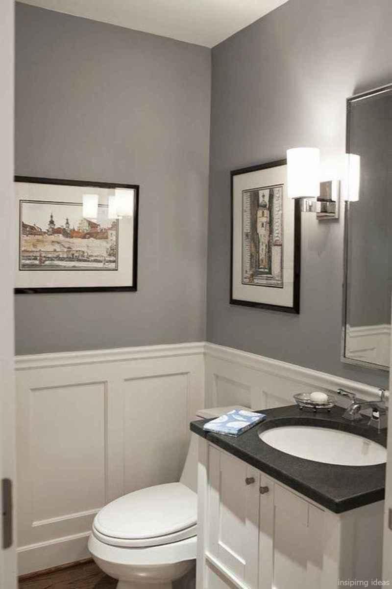 50 modern farmhouse small bathroom wall color ideas 7