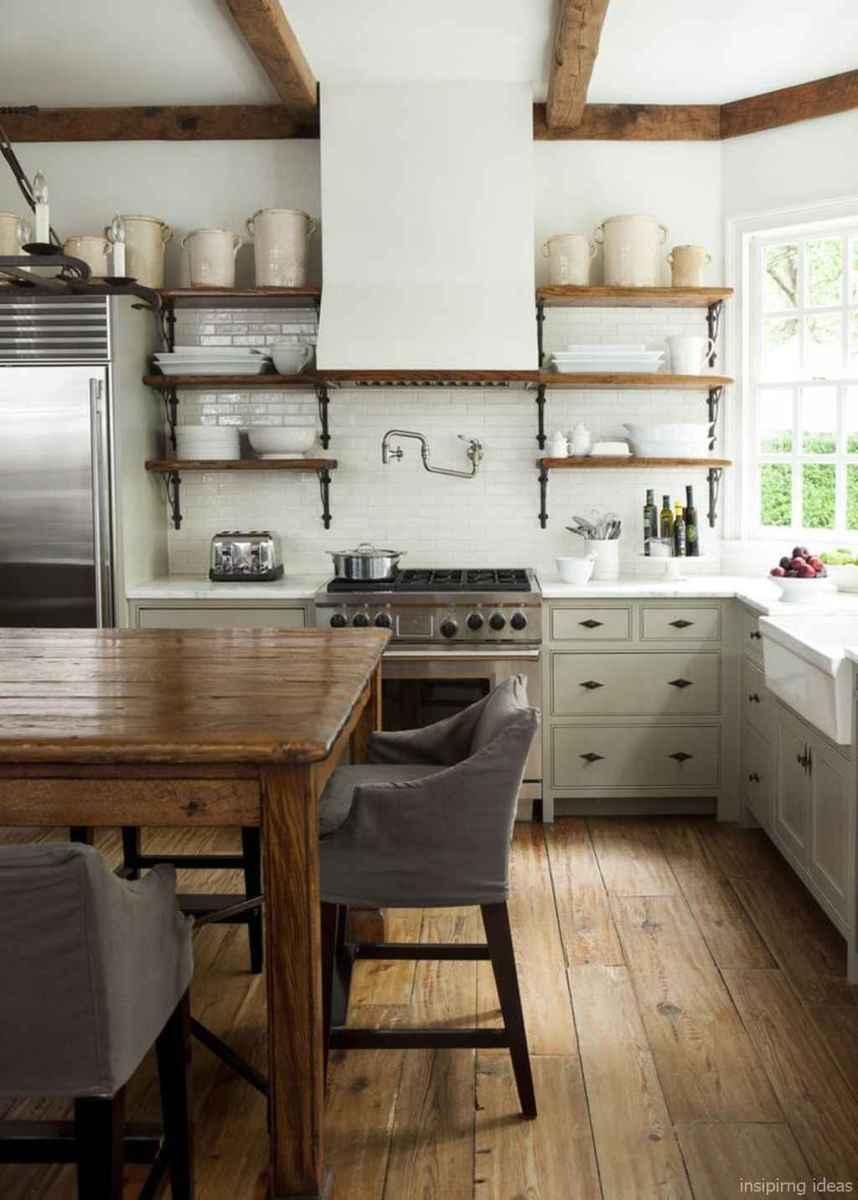 Awesome farmhouse kitchen table design ideas 07