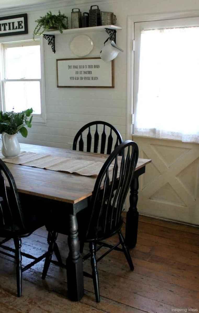 Awesome farmhouse kitchen table design ideas 13