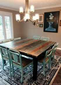 Awesome farmhouse kitchen table design ideas 14