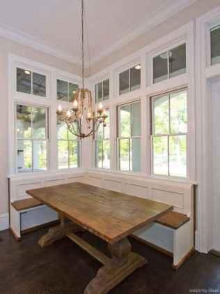 Awesome farmhouse kitchen table design ideas 20
