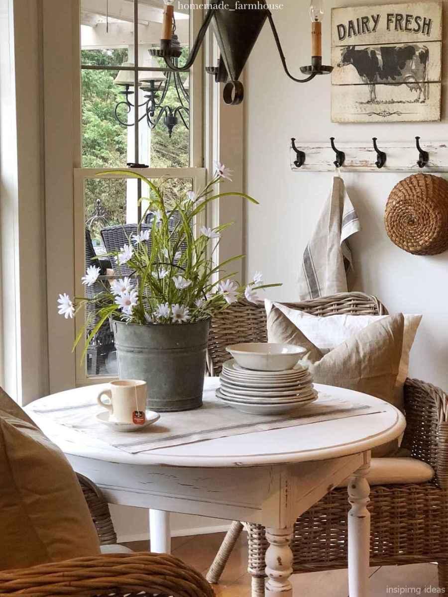 Awesome farmhouse kitchen table design ideas 23