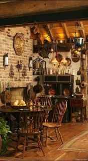 Awesome farmhouse kitchen table design ideas 26
