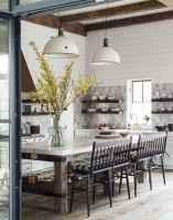Awesome farmhouse kitchen table design ideas 30