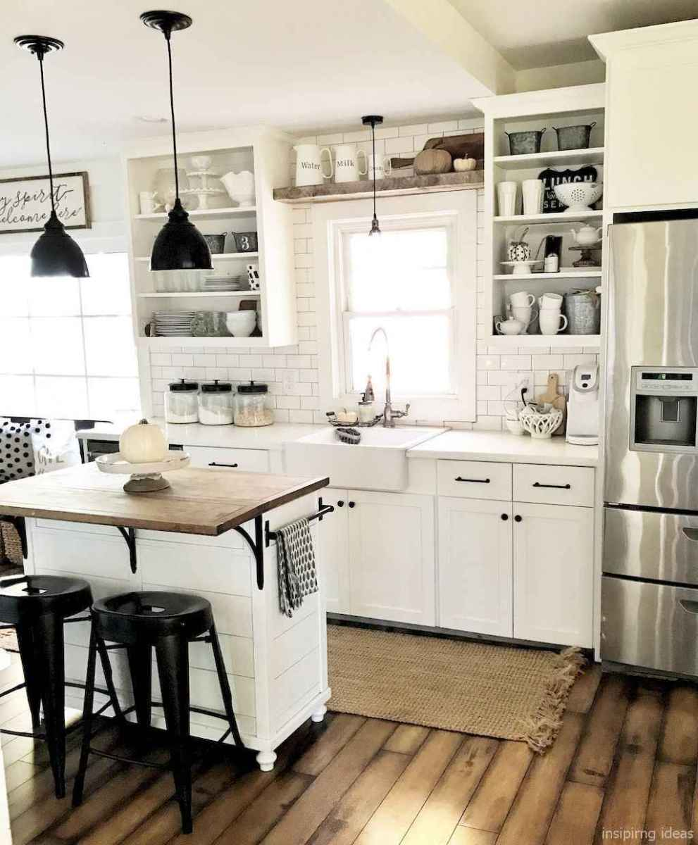 Awesome farmhouse kitchen table design ideas 42