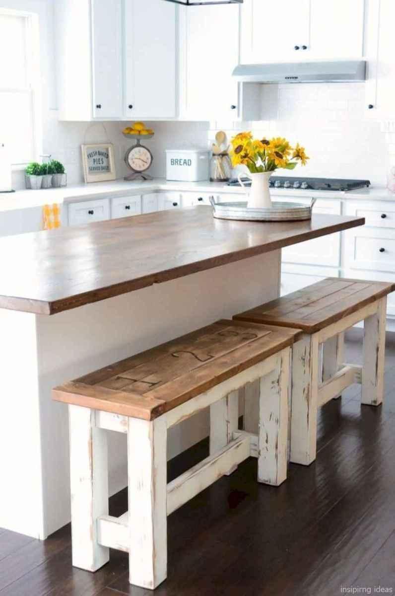 Awesome farmhouse kitchen table design ideas 47