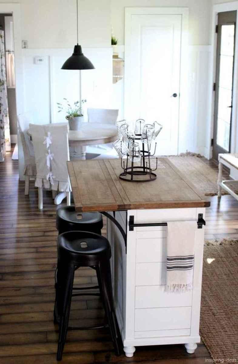 Awesome farmhouse kitchen table design ideas 48