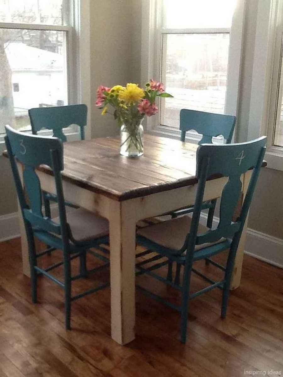 Awesome farmhouse kitchen table design ideas 52
