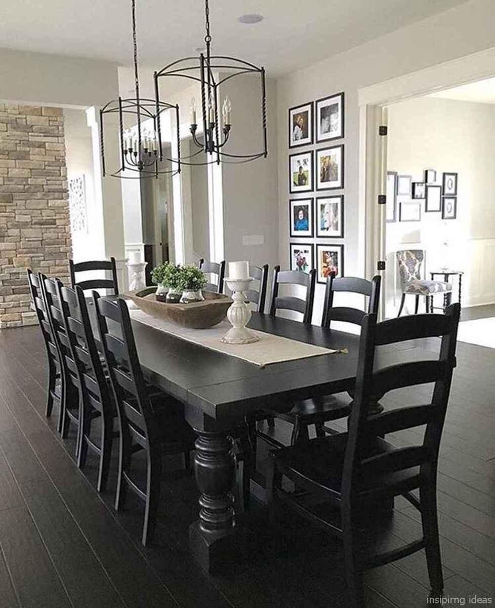 Awesome farmhouse kitchen table design ideas 53
