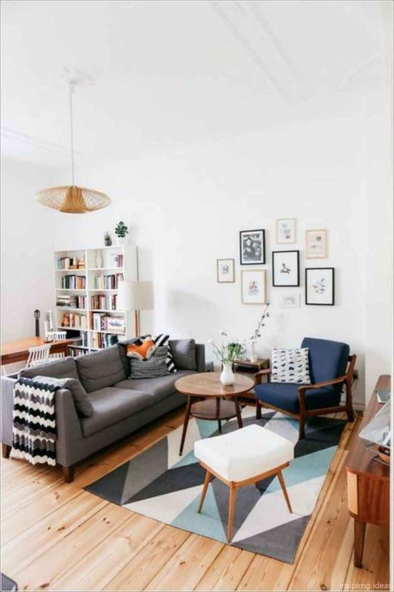 Cozy modern apartment living room decorating ideas on a budget 27