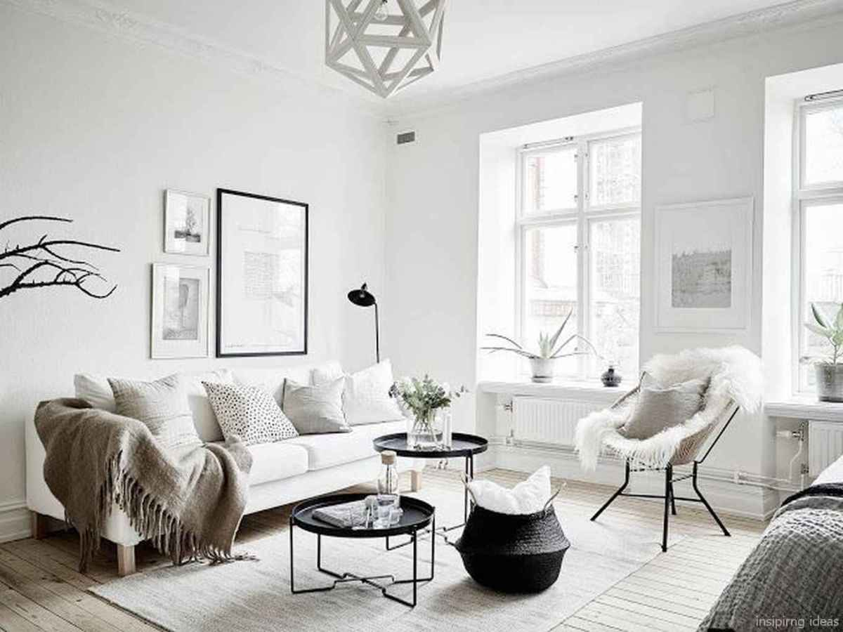 Cozy modern apartment living room decorating ideas on a budget 54
