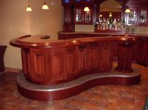 Custom Home Bar Ideas