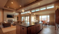 6 Gorgeous Open Floor Plan Homes -Room & Bath