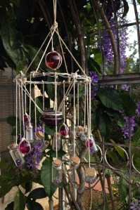 5 DIY Wind Chimes Made Out of Old Bottles