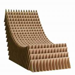 How Are Chairs Made Folding Chair Uae 7 Wacky Pieces Of Cardboard Furniture Youll Have To See