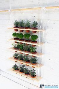 10 Easy DIY Kitchen Herb Gardens -Room & Bath