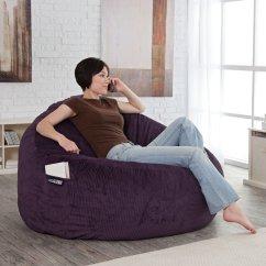 Classy Bean Bag Chairs Ethan Allen Pineapple Chair 7 Adult Bags Room Bath Purple