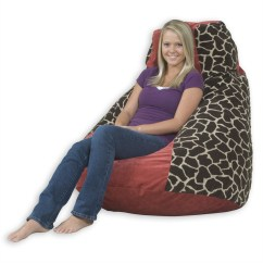 Adult Size Bean Bag Chair Tilting Office Mechanism 7 Classy Bags Room And Bath