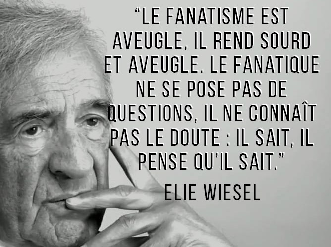 Elie Wiesel en citations