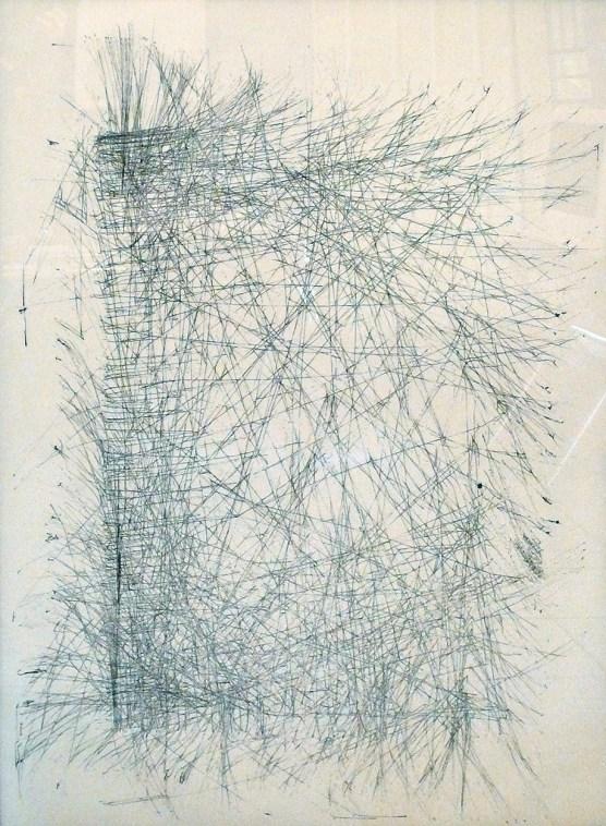 """Vortex, 35"""" x 56"""", ink on paper"""